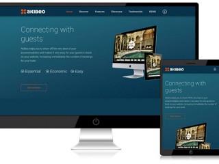 Akibeo, hotel website platform