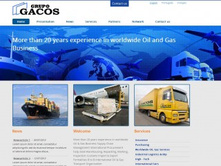 Website for Gacos Group