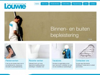 Website for Louwie.be