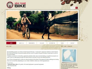 Website for Sao Tome bike